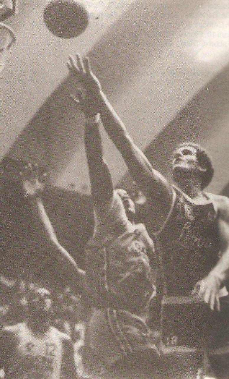 STAGIONE 1985/86: KEVIN RESTANI IN MAGLIA LIBERTAS LIVORNO