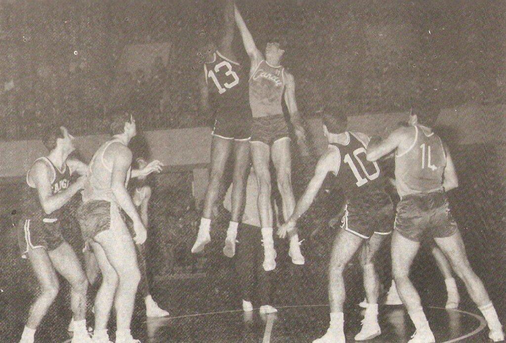 STAGIONE 1966-67: FARGAS LIBERTAS LIVORNO v CANDY BOLOGNA
