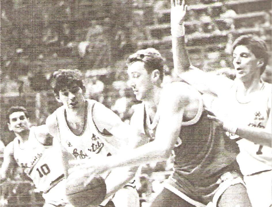 FINAL FOUR COPPA ITALIA 1990/91: LIBERTAS LIVORNO vs GLAXO SCALIGERA VERONA