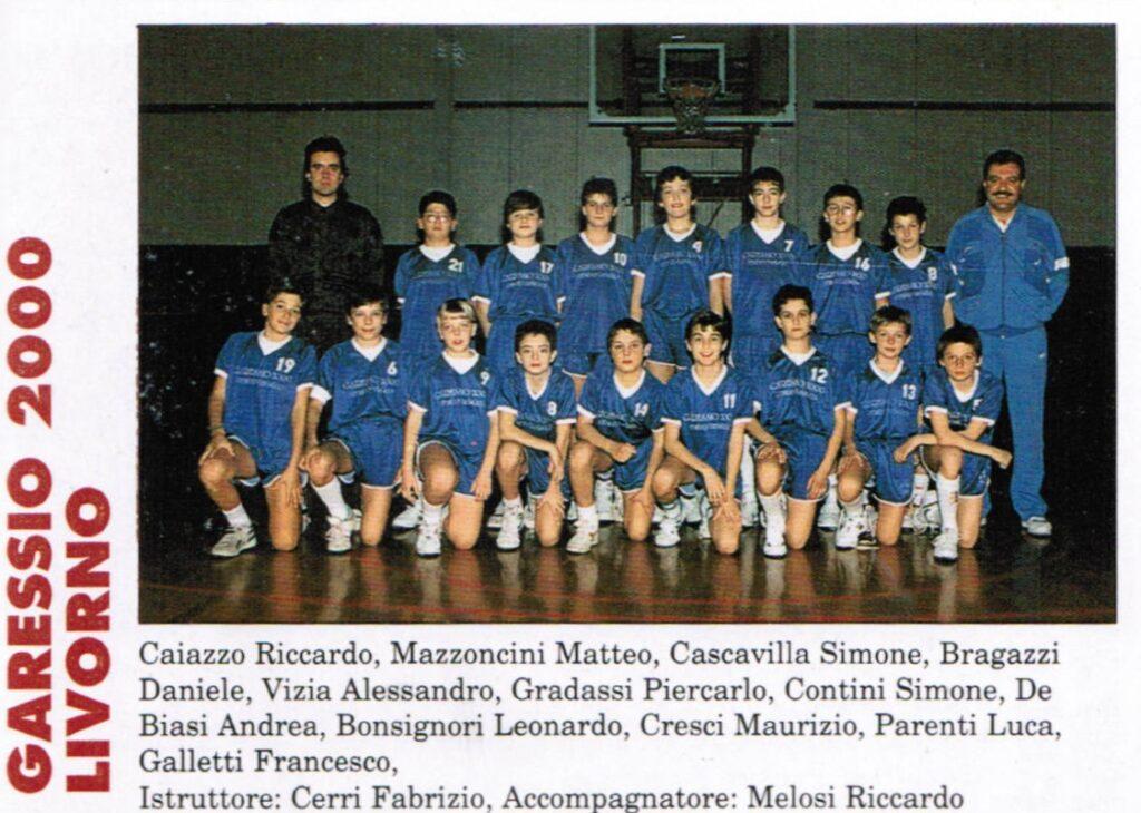 PALLACANESTRO LIVORNO MINIBASKET 1990