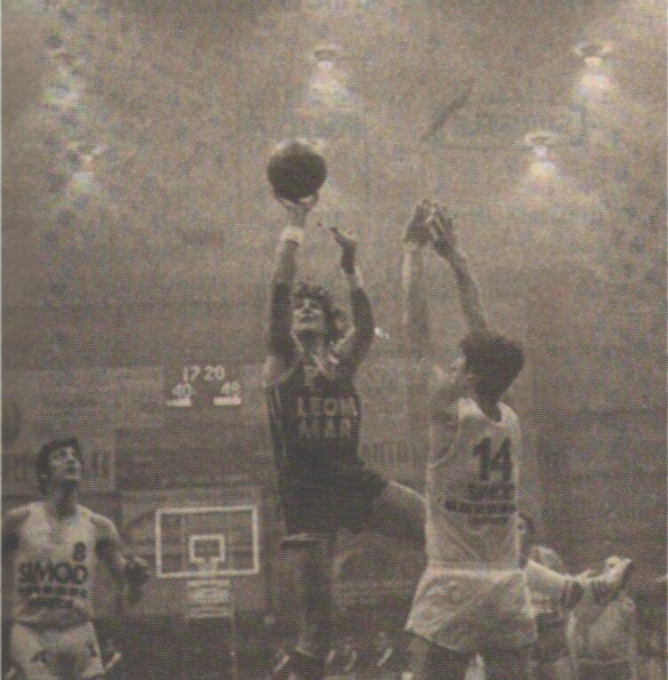 STAGIONE 1979/80: SIMOD PADOVA vs LEONE MARE PALLACANESTRO LIVORNO