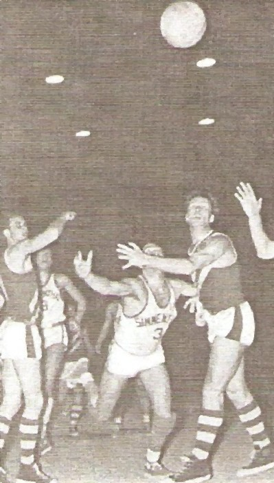 STAGIONE 1957/58: SIMMENTHAL MILANO v LIVORNO PALLACANESTRO