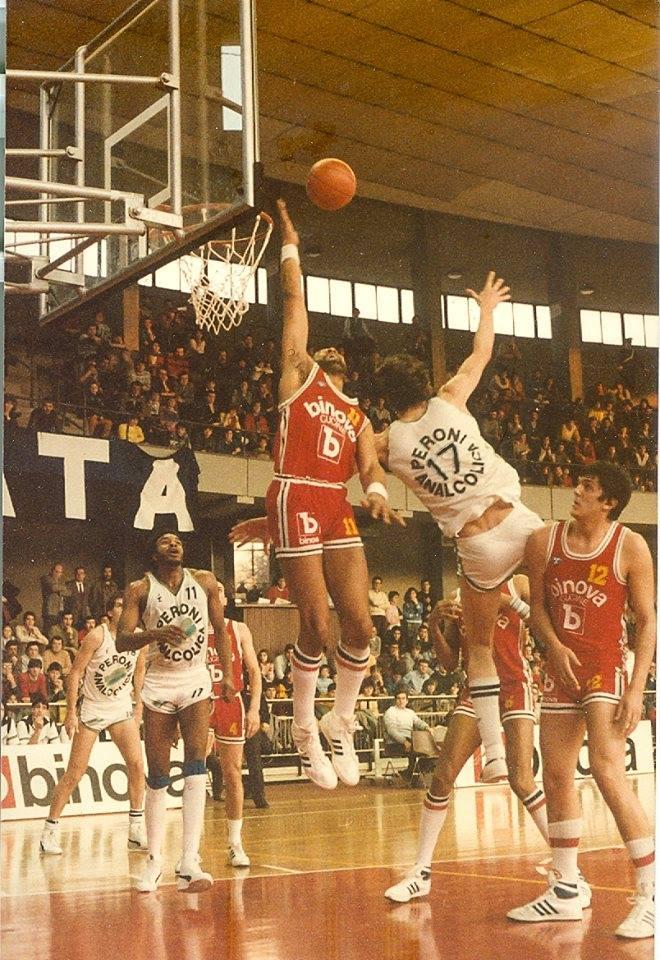 STAGIONE 1983/84: BINOVA BERGAMO vs ANALCOLICA PERONI LIBERTAS LIVORNO