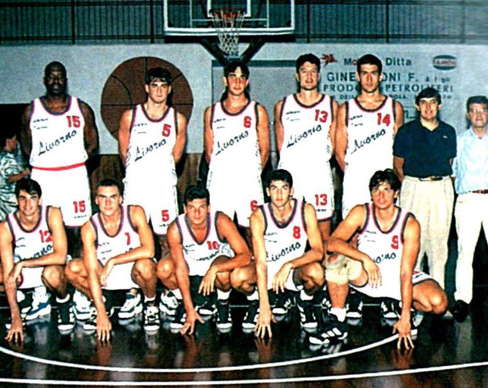 STAGIONE 1996/97: LA FORMAZIONE DON BOSCO LIVORNO