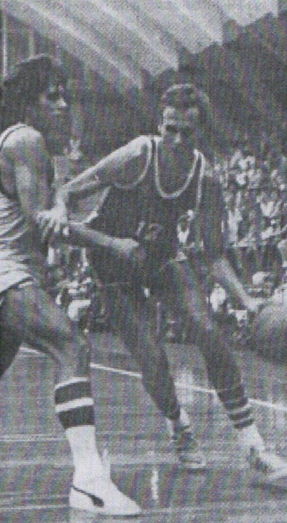STAGIONE 1980/81: JOHN GROCHOWALSKI IN MAGLIA PALLACANESTRO LIVORNO