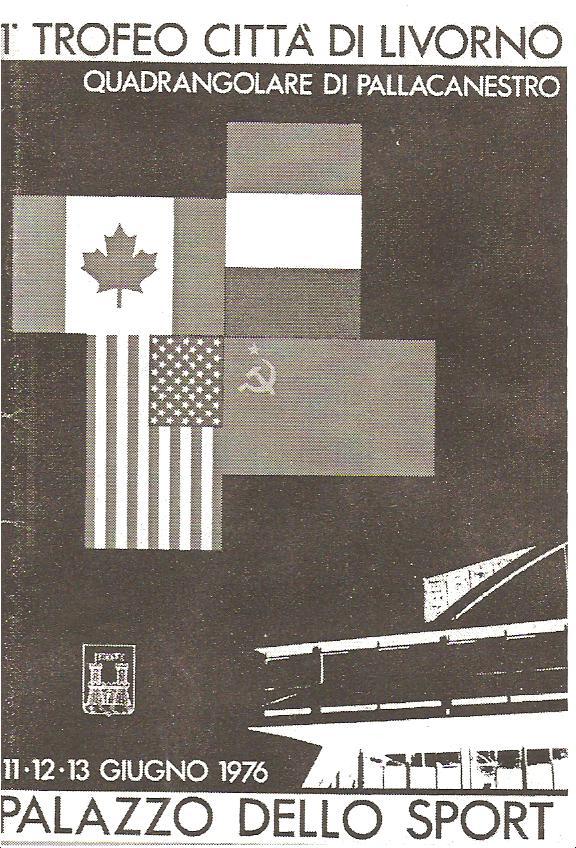 LOCANDINA INAUGURAZIONE PALALLENDE DEL 1976