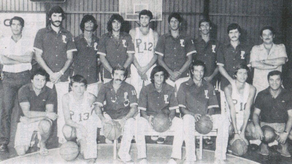 PALLACANESTRO LIVORNO 1978/79