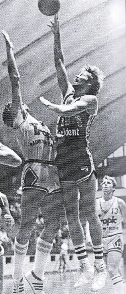 STAGIONE 1981/82: RANDY MEISTER IN MAGLIA PALLACANESTRO LIVORNO