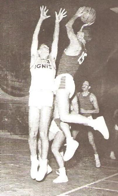 STAGIONE 1960/61 LIBERTAS LIVORNO vs IGNIS VARESE