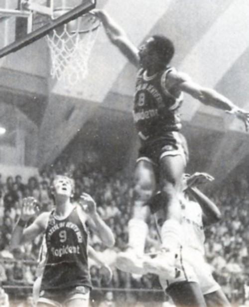 STAGIONE 1982/83: LARRY GIBSON IN MAGLIA PALLACANESTRO LIVORNO