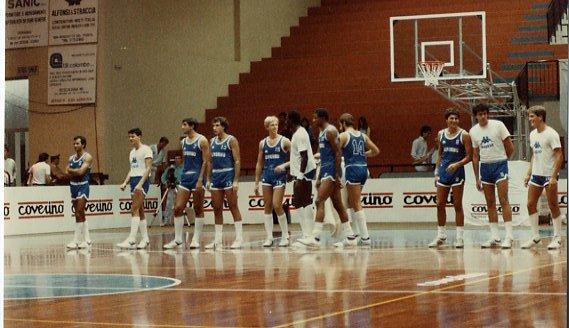 ESTATE 1985: LA PALLACANESTRO LIVORNO AL TORNEO ESTIVO DI ROSETO